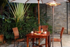 Buy a stylish outdoor heater for your patio